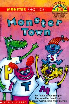 Image for Monster Town (Level 1) (Hello Reader! Ser.)
