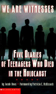 Image for We are Witnesses: five diaries of Teenagers Who died in the Holocaust
