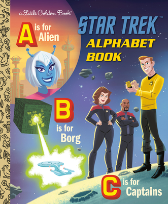 Image for STAR TREK ABC BOOK (STAR TREK) (LITTLE GOLDEN BOOK)