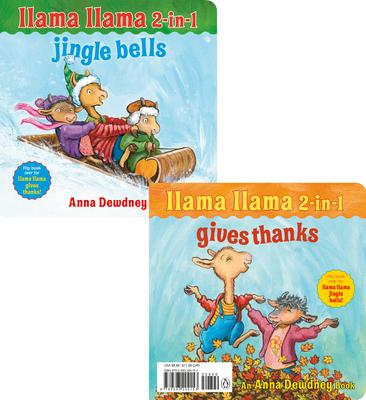 Image for LLAMA LLAMA 2-IN-1: GIVES THANKS / JINGLE BELLS