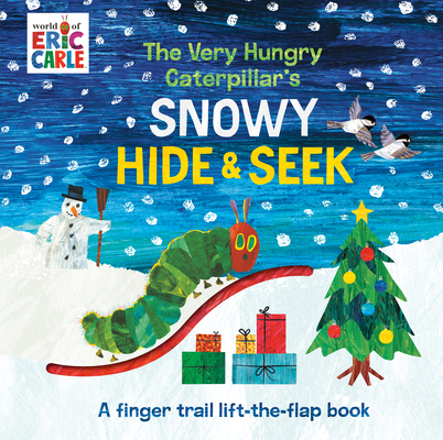 Image for VERY HUNGRY CATERPILLAR'S SNOWY HIDE & SEEK: A FINGER TRAIL LIFT-THE-FLAP BOOK