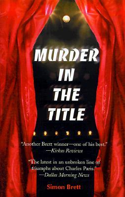 Murder in the Title, Brett, Simon