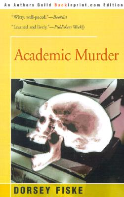 Image for Academic Murder