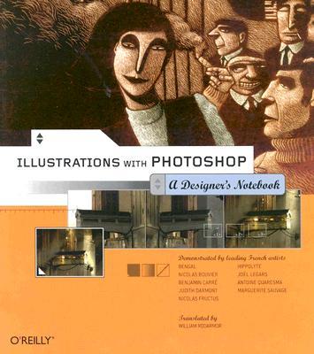 Image for ILLUSTRATIONS WITH PHOTOSHOP: A DESIGNER'S LANDSCAPE