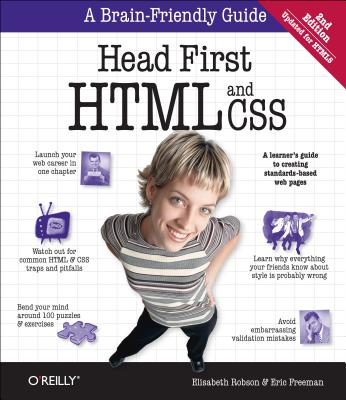 Image for Head First HTML and CSS: A Learner's Guide to Creating Standards-Based Web Pages