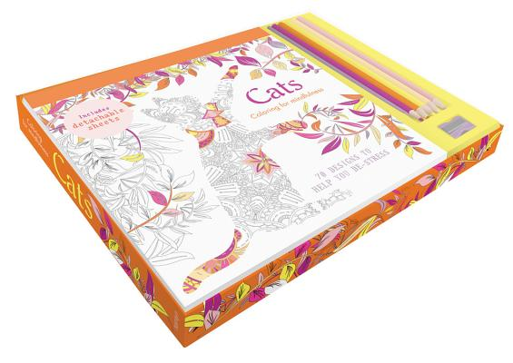 Image for Cats coloring kit
