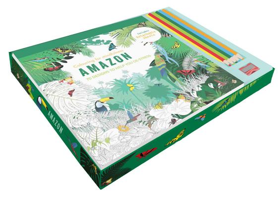 Amazon coloring kit (Colouring for Mindfulness), Hamlyn