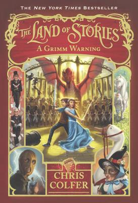 Image for A Grimm Warning (Turtleback School & Library Binding Edition) (The Land of Stories)