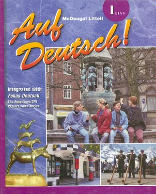 Image for Auf Deutsch!: Student Edition Level 1 Level 1-Eins 2001