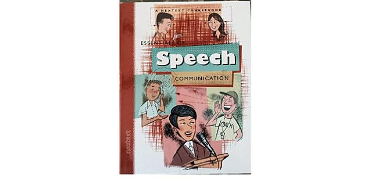 Image for Nextext Coursebooks: Student Text Essentials of Speech Communication 2001