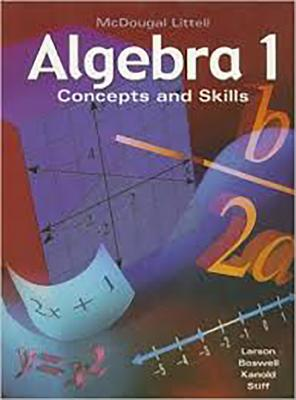 Image for Algebra 1: Concepts and Skills: Standardized Test Practice Workbook