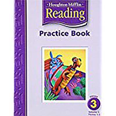 Houghton Mifflin Reading: Practice Book, Volume 1 Grade 3, HOUGHTON MIFFLIN