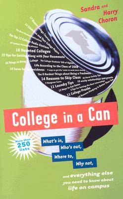 COLLEGE IN A CAN, SANDRA CHORON