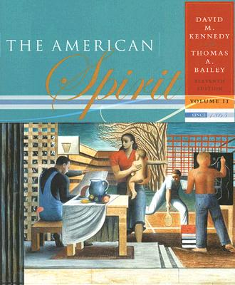 Image for 2: Volume II: Since 1865: The American Spirit: United States History as Seen by Contemporaries
