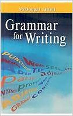 Image for Grammar for Writing Grade 6 (McDougal Littell Literature)