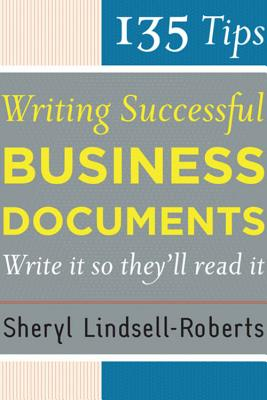 Image for 135 Tips for Writing Successful Business Documents