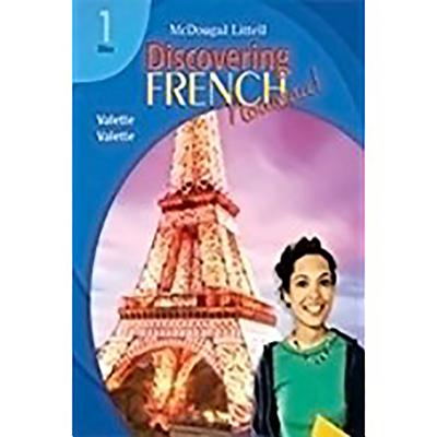 Image for Discovering French, Nouveau!: Sing-Along Grammar & Vocabulary CD with Booklet Level 1