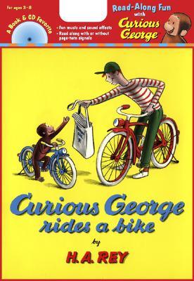 "Curious George Rides a Bike (Read Along Book & CD), ""Rey, H. A."""
