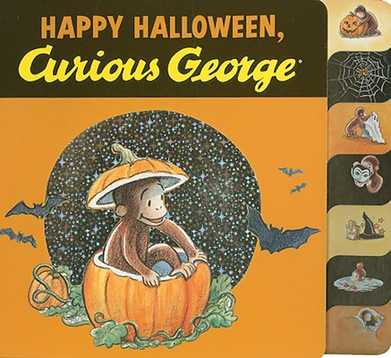 """""""Happy Halloween, Curious George tabbed board book"""", """"Rey, H. A."""""""