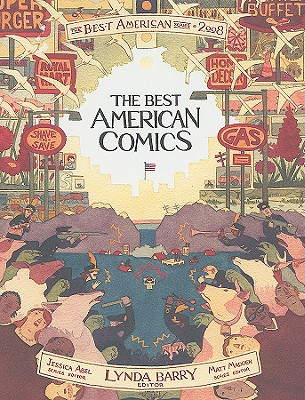 Image for BEST AMERICAN COMICS 2008, THE