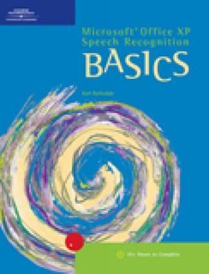 Image for Microsoft Office XP Speech Recognition BASICS (Basics (Thompson Learning))