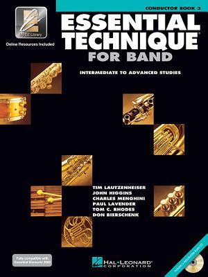 Image for Esssential Technique 2000 Intermediate to Advanced Studies, Conductor Book 3 (Intermediate To Advanced Studies, Conductor Book 3)