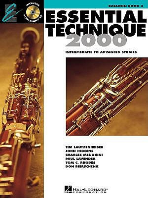 Image for Essential Technique 2000: Bassoon Book 3 (Essential Elements Method)