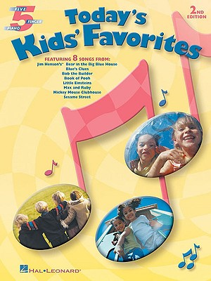 Image for Today's Kids' Favorites Five Finger Piano