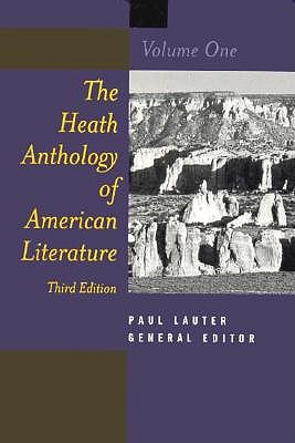 The Heath Anthology of American Literature, Volume I