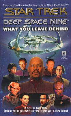 Image for Star Trek Deep Space Nine: What you leave behind