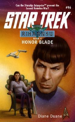 Image for Honor Blade (Star Trek, No 96/Rihannsu Book 4)