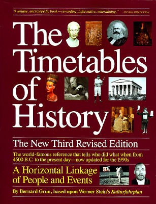Image for TIMETABLES OF HISTORY, THE A HORIZONTAL LINKAGE OF PEOPLE AND EVENTS