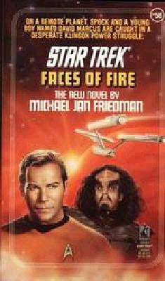 Image for Faces of Fire (Star Trek, Book 58)