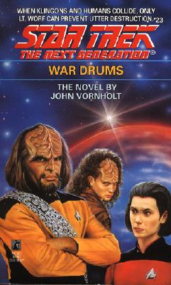 Image for War Drums (Star Trek The Next Generation, No 23)