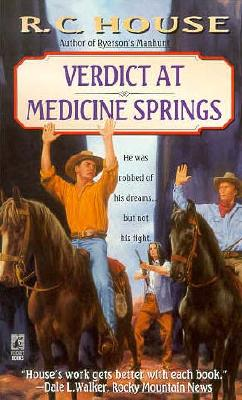 Image for Verdict at Medicine Springs: Verdict at Medicine Springs