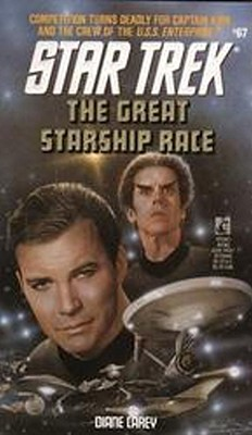 The Great Starship Race (Star Trek, Book 67), DIANE CAREY