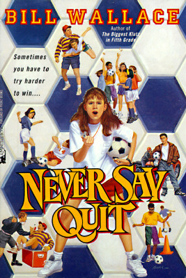 Image for Never say quit