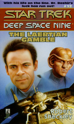 Image for The Laertian Gamble (Star Trek Deep Space 9 #12)