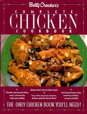 Image for BETTY CROCKER'S COMPLETE CHICKEN COOKBOOK