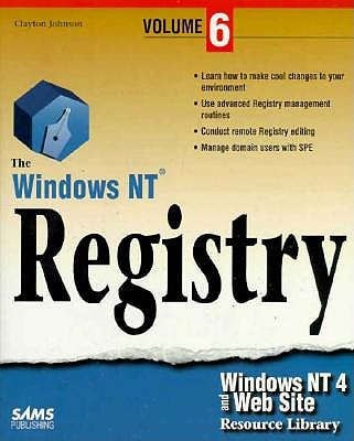 Image for Windows NT 4 and Web Site Resource Library Volume 6: The Windows NT Registry