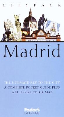 Image for Fodor's Citypack Madrid, 1st Edition (Citypacks)