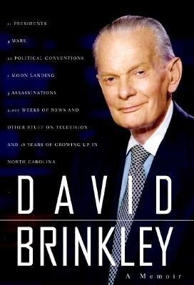 Image for DAVID BRINKLEY MEMOIR