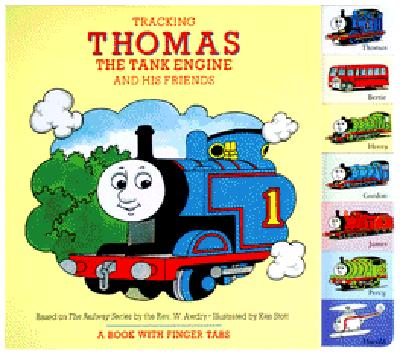 Image for Tracking Thomas the Tank Engine and His Friends: A Book with Finger Tabs