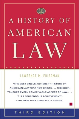 Image for A History of American Law: Third Edition
