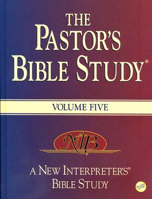 The Pastor's Bible Study?  Volume 5, Abingdon Press