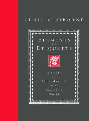 Image for ELEMENTS OF ETIQUETTE