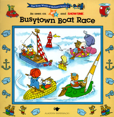 Image for BUSYTOWN BOAT RACE: BUSY WORLD RICHARD SCARRY #6 (The Busy World of Richard Scarry)