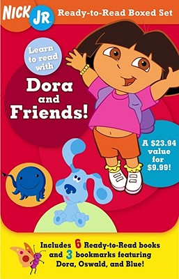 Image for Nick Jr. Ready-to-Read Boxed Set: Learn to Read with Dora and Friends! (Ready-to-Reads)
