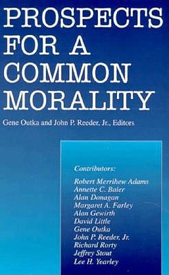 Image for Prospects for a Common Morality