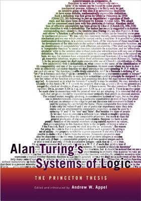 Image for Alan Turing's Systems of Logic: The Princeton Thesis